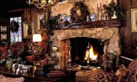 A Warm Cozy Winter Cottage